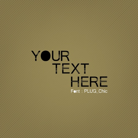 text with old style background Stock Vector - 9529995