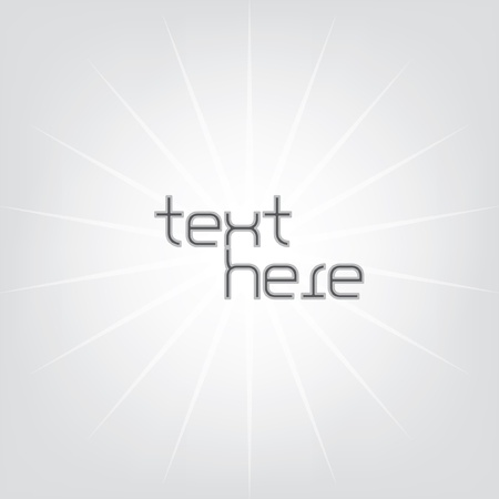 Lighting Background with text Illustration