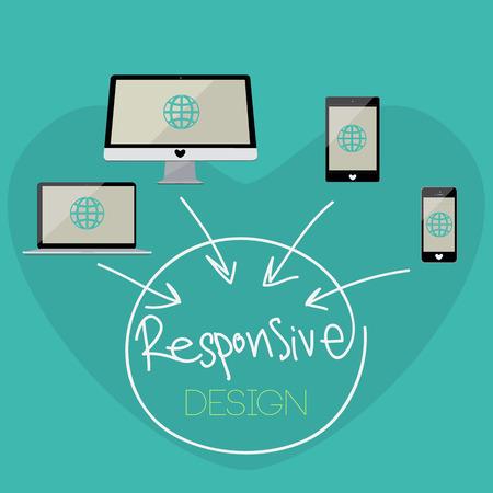 Responsive Design Stock Vector - 27630606