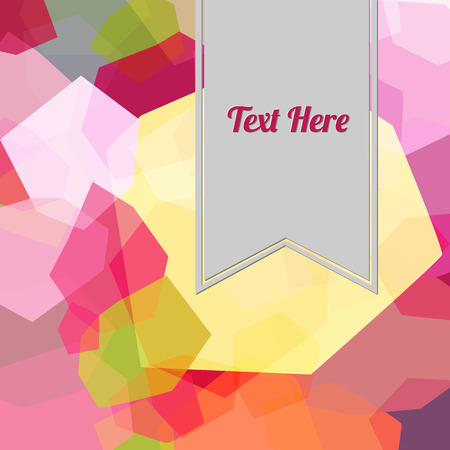 Full color abstract background