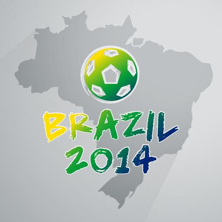 Soccer Brazil Infographic
