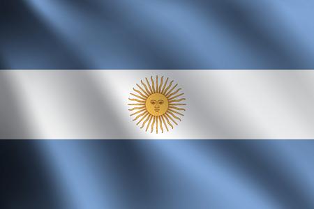 bandera argentina: Bandera ARGENTINA Vectores