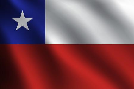 bandera de chile: Bandera CHILE Vectores