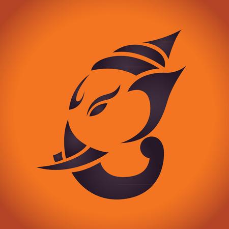 mano de dios: ganesha vector