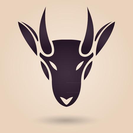 ヤギのロゴ