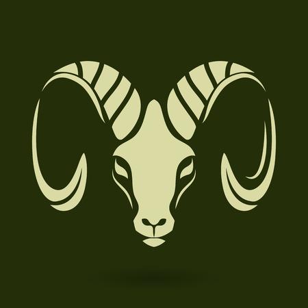 capricornio: Logo Cabra
