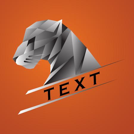 タイガーのロゴ  イラスト・ベクター素材