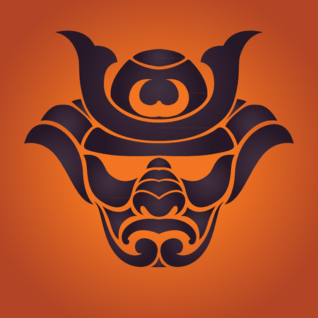 samurai vector Vector