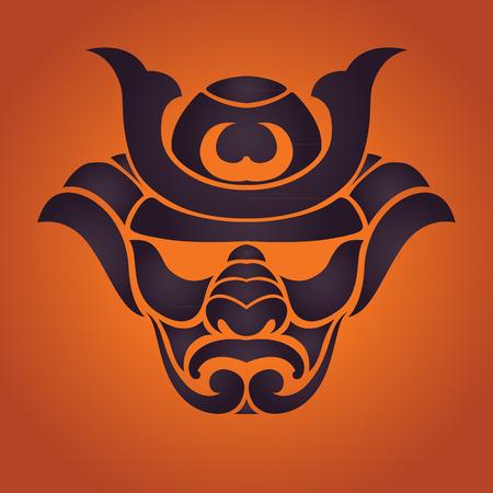 shogun: samurai vector