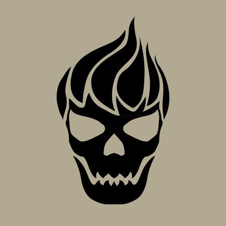 skull vector: skull vector