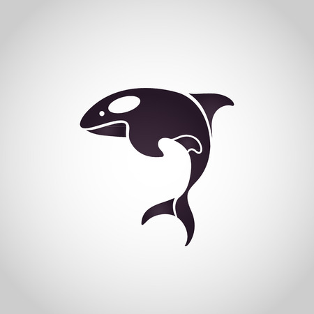 dolphins: dolphin logo vector
