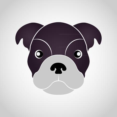 Dog logo vector Illustration