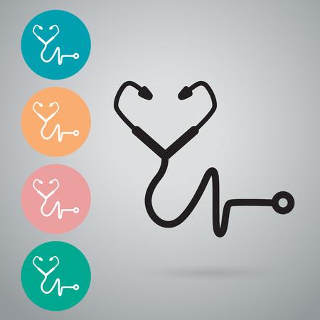 Stethoscope icon Çizim