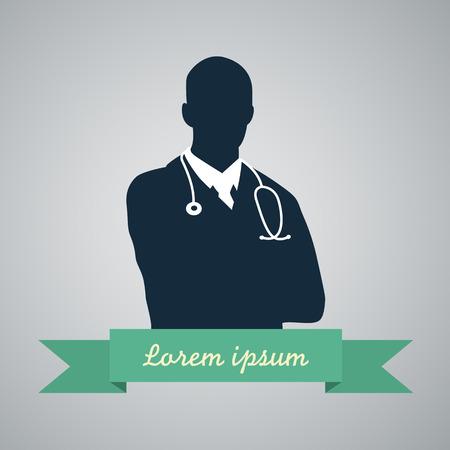 simbolo uomo donna: Medico Medical icon Vettoriali