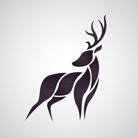 deer buck: Dear vector