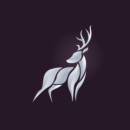Ciervo de vectores Ilustración de vector