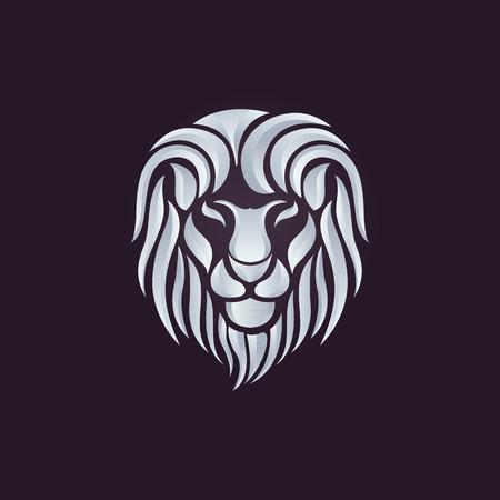 ライオンのロゴのベクトル