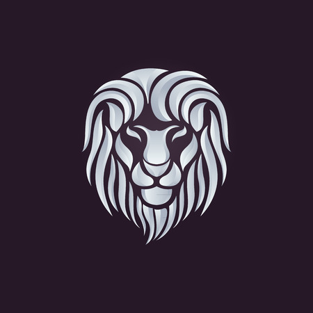 logo element: Lion logo vector