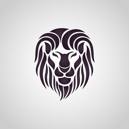 lion head: Lion logo vector
