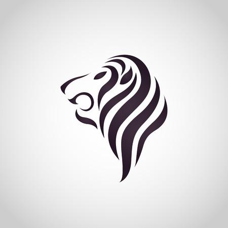 leo: Lion logo vector