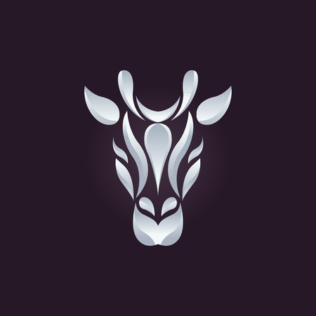 giraffe: Giraffe logo vector