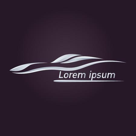 Car logo vector Çizim