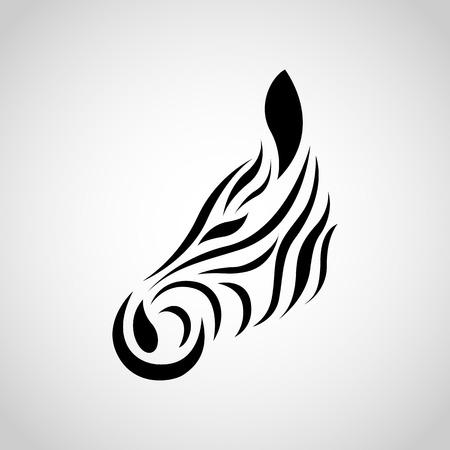 zebra stripes: Zebra vector