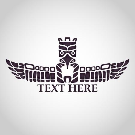indios americanos: t�tem vector