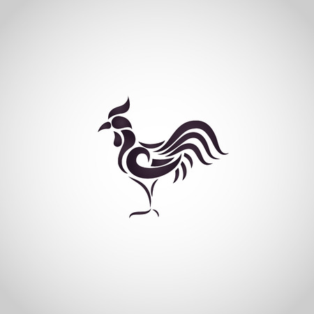 Chicken logo vector