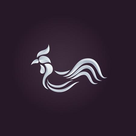 Chicken logo vector Vector