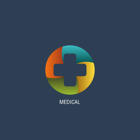 medical symbol: Medical logo vector Illustration