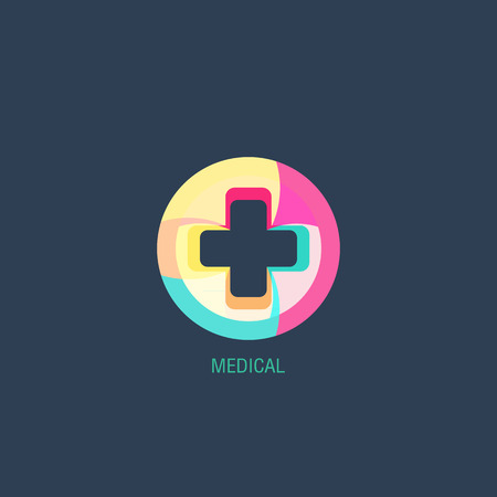 medical illustration: Medical logo vector Illustration