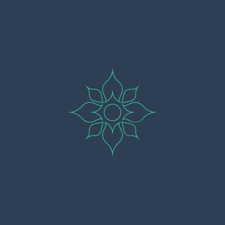 Lotus logo vecteur Banque d'images - 37565423