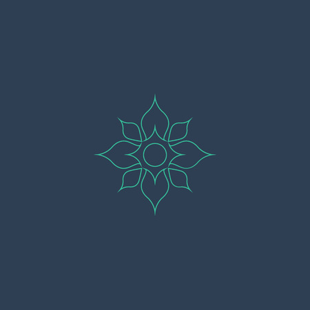 Lotus logo vector