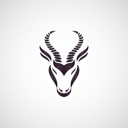 Antelope Vektor Standard-Bild - 37761071