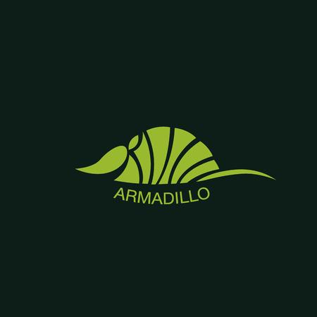 ARMADILLO vector Illustration