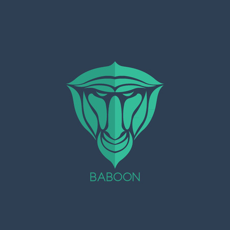 baboon: Baboon  vector Illustration