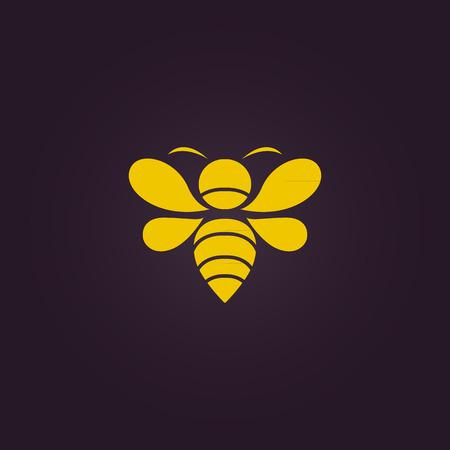 abeja: Abeja del vector