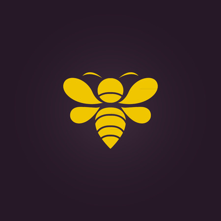 bee honey: Bee vector Illustration