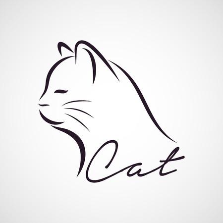 CAT logo vector Vectores