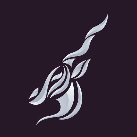 antelope: Antelope logo vector