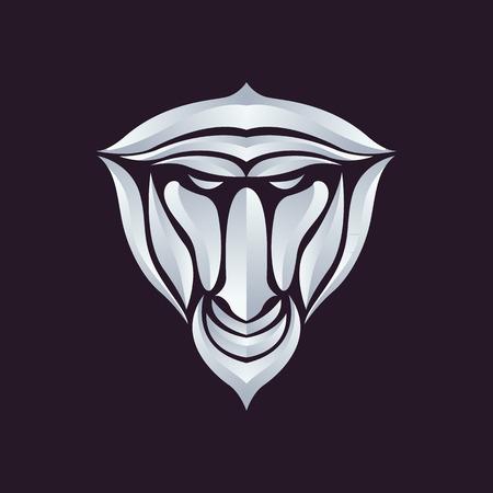 baboon: Baboon logo vector Illustration