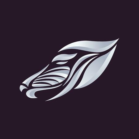 mandril: Babuino vector logo