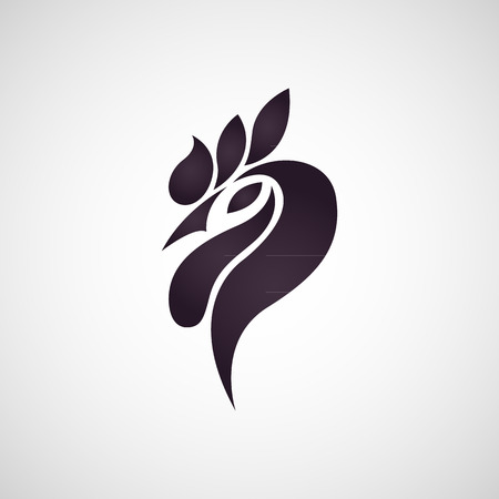 rooster: Chicken logo vector