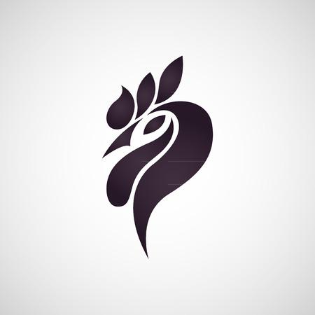Chicken logo vector Stok Fotoğraf - 38635131