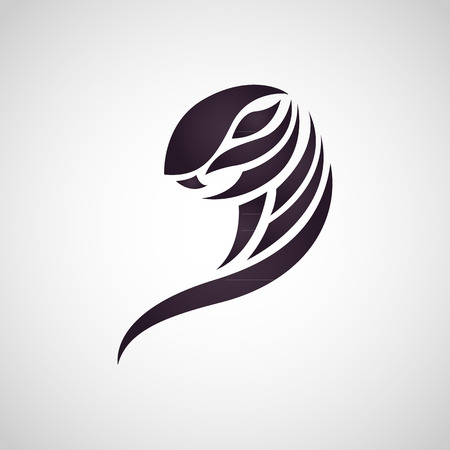 cobra: cobra snake logo vector Illustration