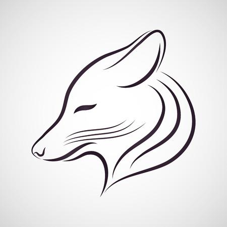 Coyote vector Illustration