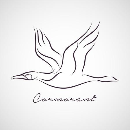 cormorant: Cormorant vector