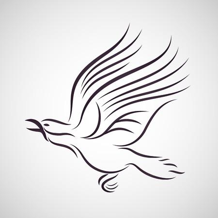 cuervo: vectorial Crow Vectores