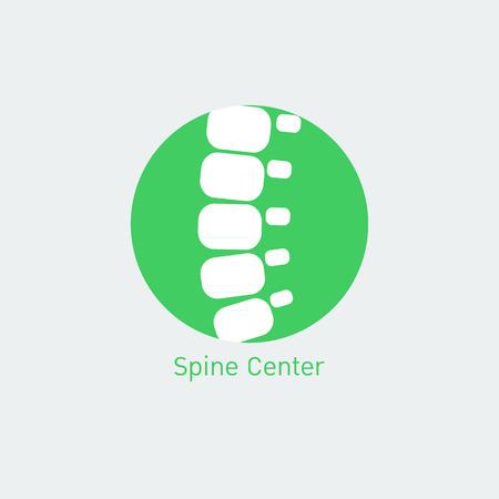 espina dorsal: logo Centro columna vertebral